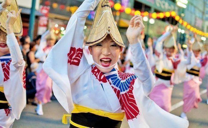 Awa Odori. Festival de Tokushima