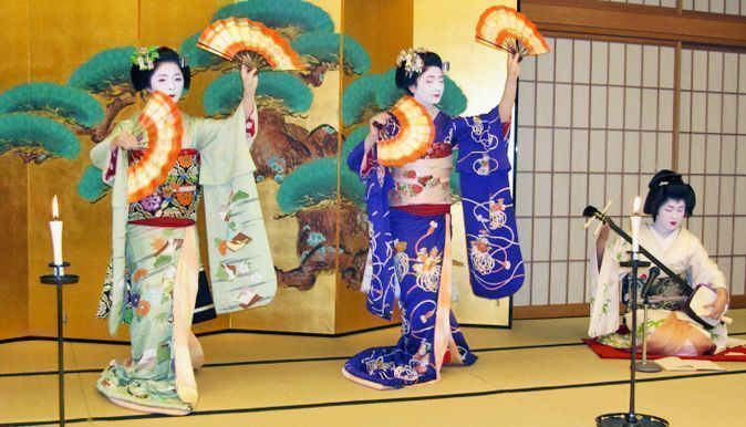 Espectáculo maiko en kioto. comprar entradas
