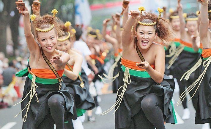 Festival Harajuku Omotesando Super Yosakoi