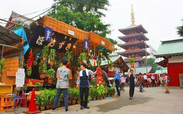 Hozuki Ichi. Festival de Asakusa