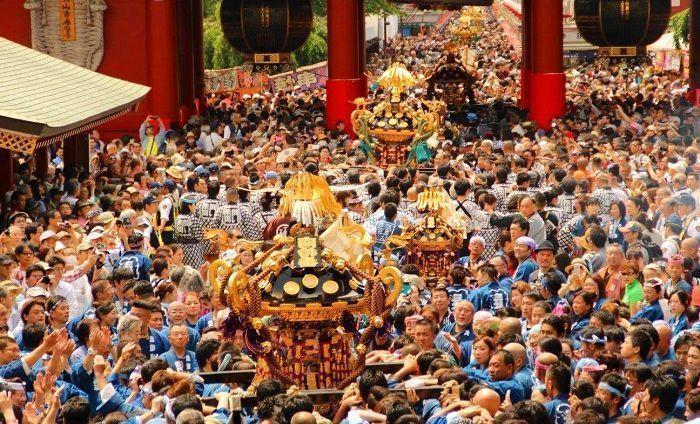 Sanja Matsuri. Festival de Tokio