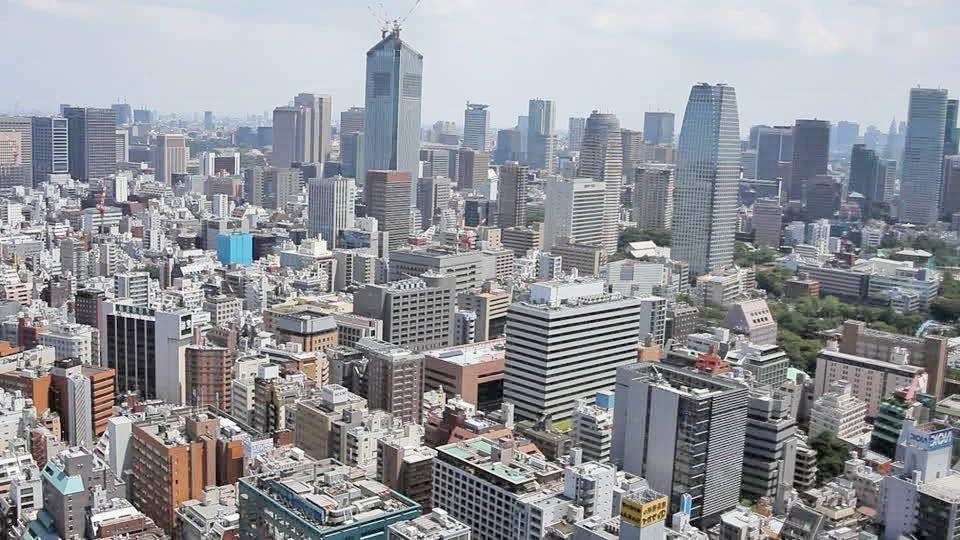 Tokio en helicóptero. tour por tokio