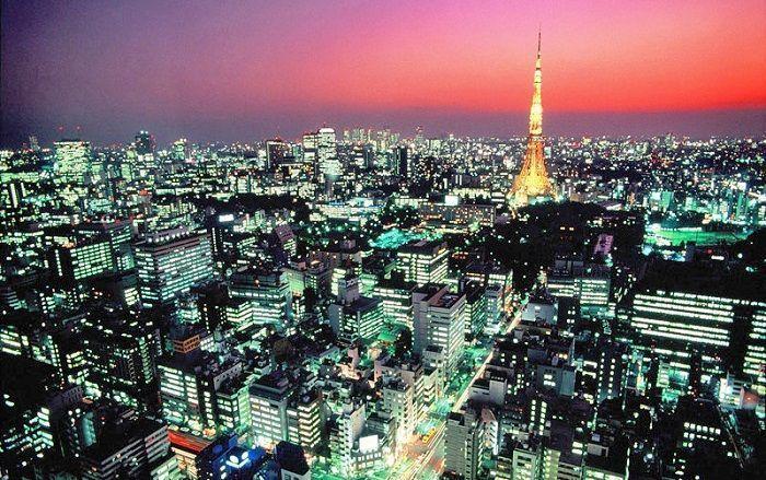 Reservar vuelo en helicóptero por Tokio