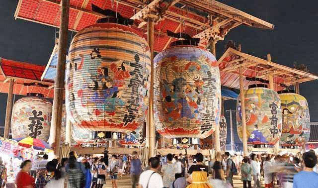 Dai Chōchin Matsuri. Festival de Nishio. Aichi.