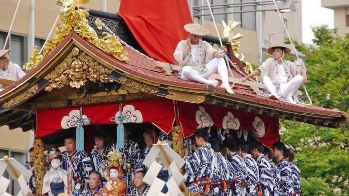 Gion matsuri Festival de Kioto