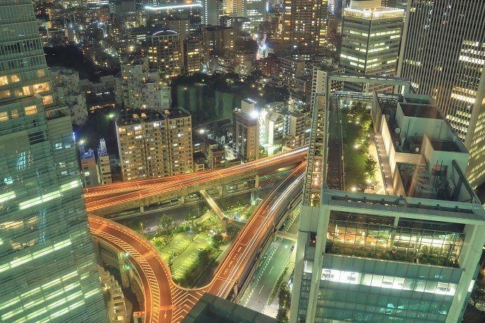 Barrios de Tokio. Roppongi.