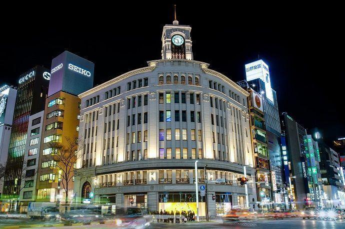 los mejores barrios de Tokio. Ginza.