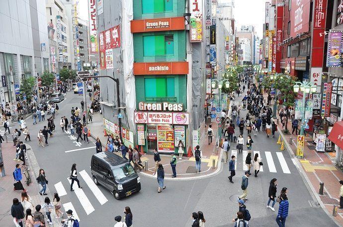 Barrios de Tokio. Shinjuku. Turismo.