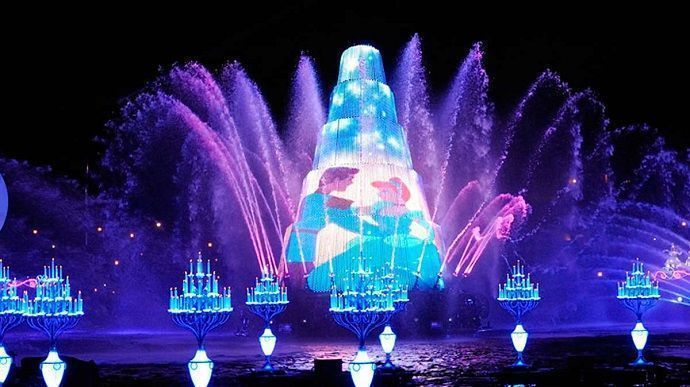 Espectáculo en Tokyo DisneySea