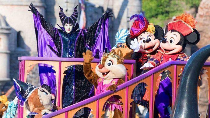 Espectáculo The Villain's World en Tokyo DisneySea.