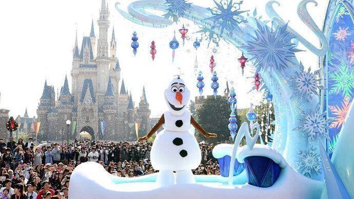 Viajar a Tokyo Disneyland en Navidad