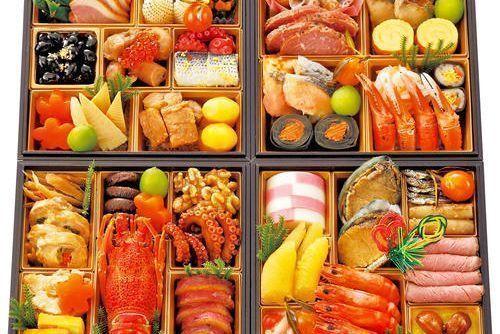 osechi ryori. Japón en año nuevo.
