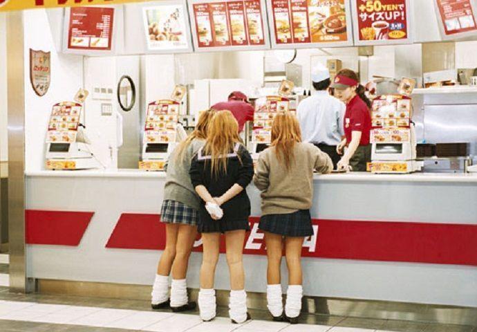 Comer en Tokio en restaurantes de comida rápida japonesa.