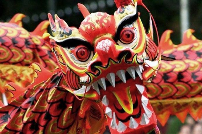 Año nuevo chino. Japón en Febrero.