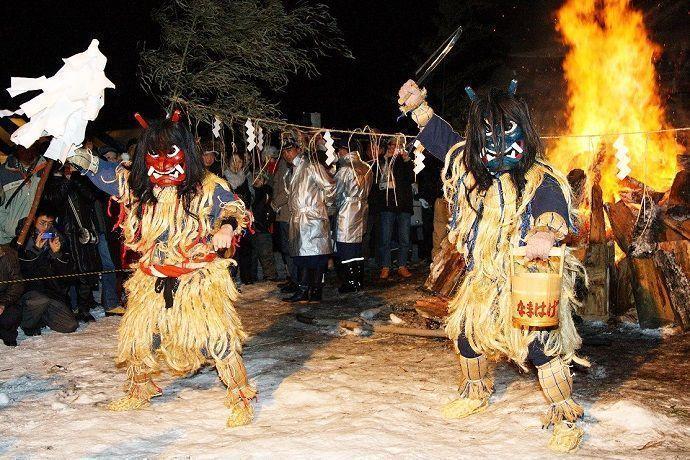 Festival de febrero, Namahage Sedo Matsuri .