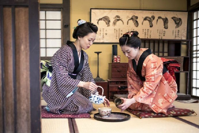 Osaka. Ceremonia del té.