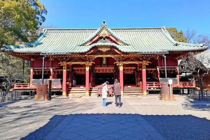 Nezu-Jinja. Tokyo Jissha.