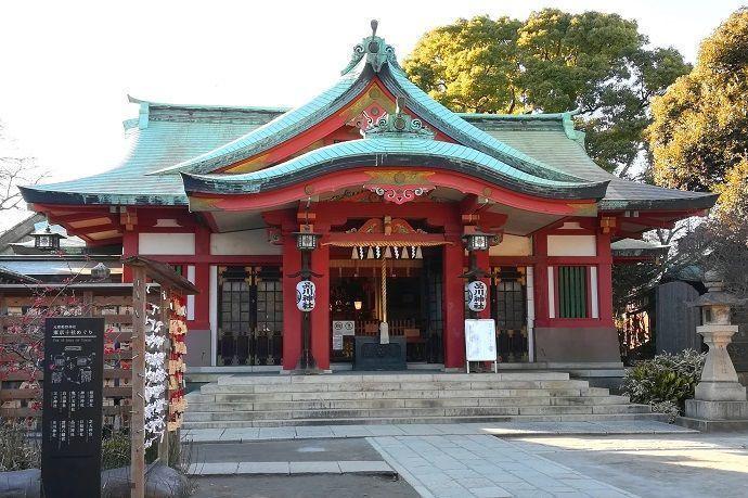 Shinagawa-jinja. Tokyo Jissha