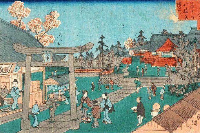 Tomioka Hachiman. Tokio.