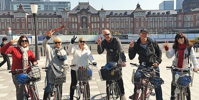 Tour por Tokio en bicicleta.