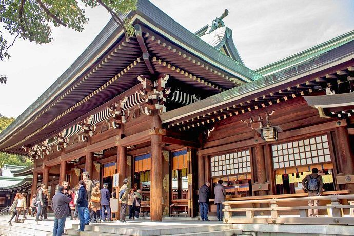 Mejores templos y santuarios de Tokio. Santuario Meiji-Jingu