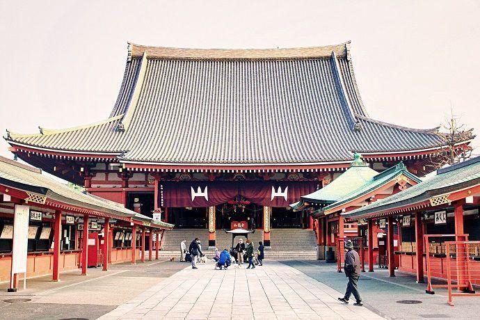 Templo Sensō-ji. Mejores templos y santuarios de Tokio.
