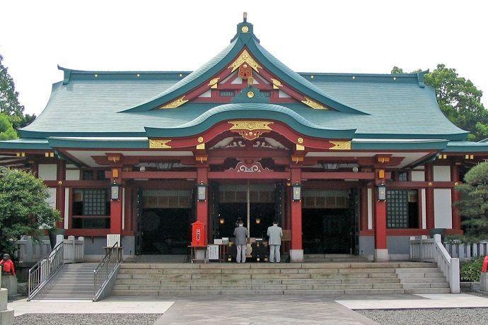 Templo Hie Jinja. Mejores templos y santuarios de Tokio.