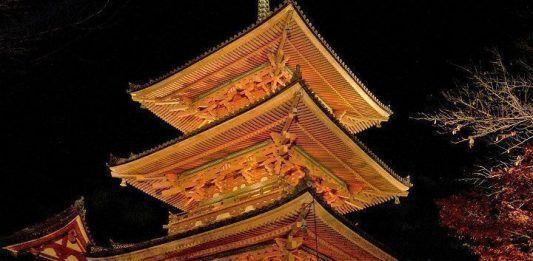 Tour nocturno por Kioto.