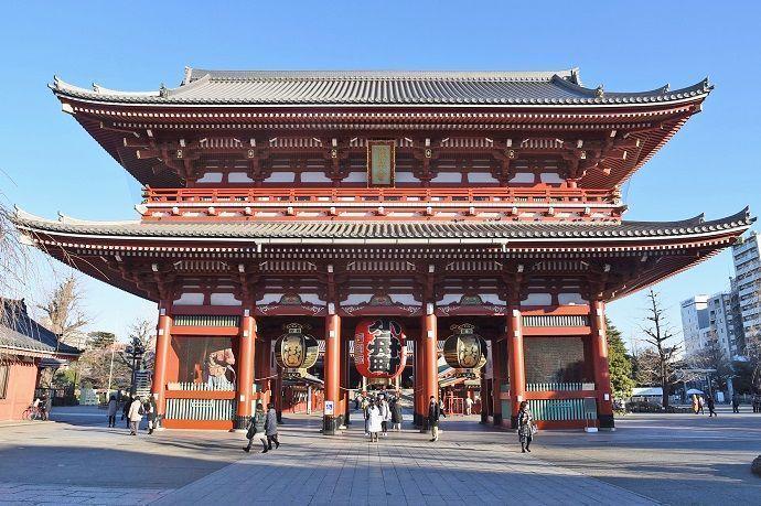 Tour guiado por Asakusa.