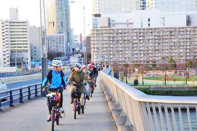 Turismo por Tokio en bicicleta.