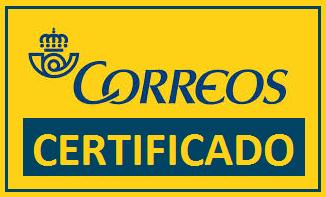 Correos certificado. Japonpedia.