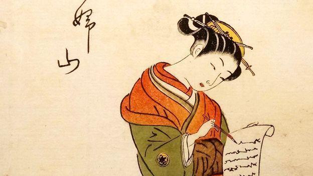 Caligrafía japonesa. Historia y origen.