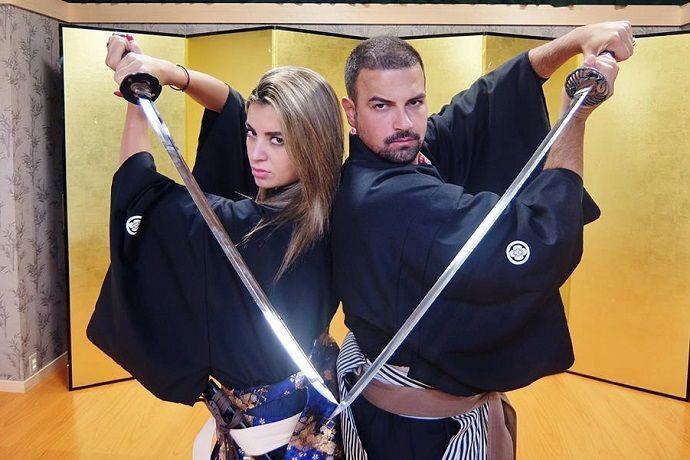 Espectáculo Samurai Kembu