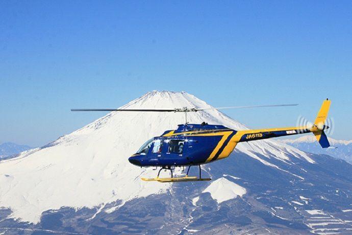 Tour en helicóptero por el monte Fuji