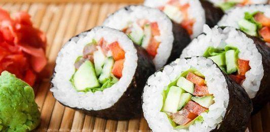 Gastronomía japonesa. Platos principales.