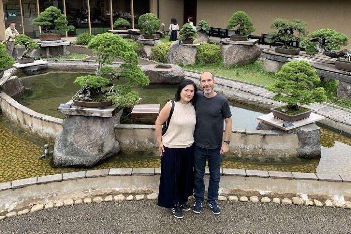 Ver bonsáis en Japón