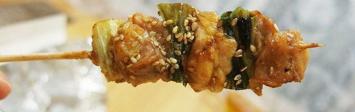 Yakitori japonés. Gastronomía japonesa