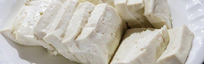 Tofu. Platos japoneses.