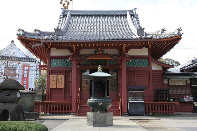 Templo Awashimado en Sensoji.