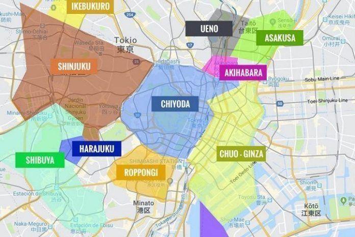 Direcciones y calles de Japón no tienen nombre.