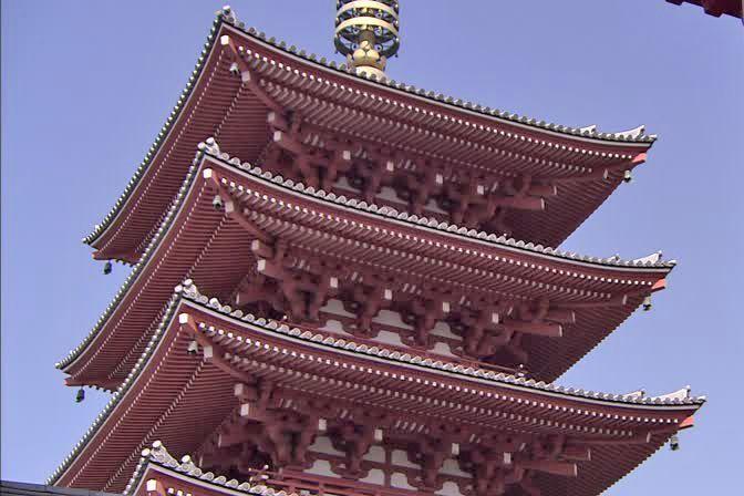 Pagoda de 5 plantas.