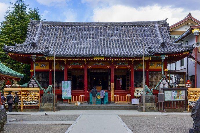 Santuario de Asakusa del Templo Sensoji.