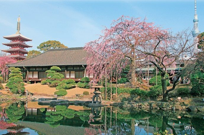 Templo Denboin en Sensoji