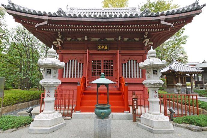 Yakushido, Templo Sensoji. Tokyo.