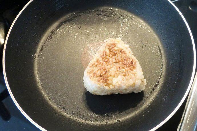 Receta onigiri plancha