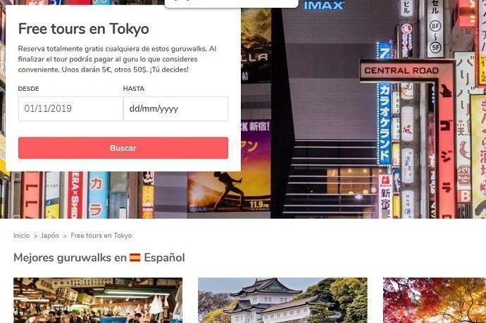 Guías gratis Tokio