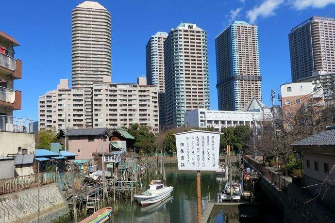 Tradición y modernidad en Tsukishima