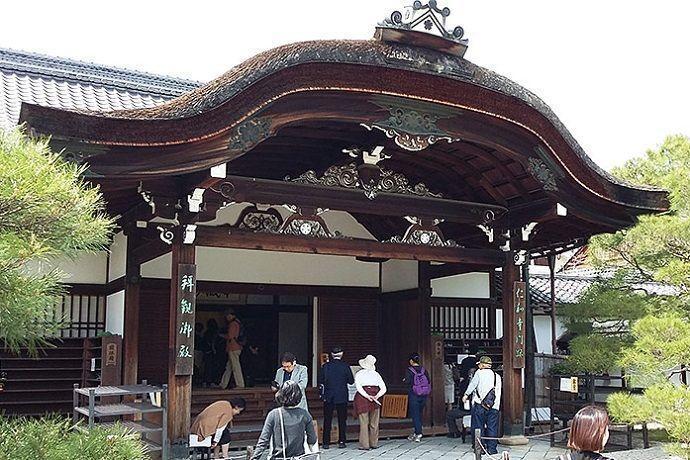 Goten, edificio de Ninna Ji en Kioto