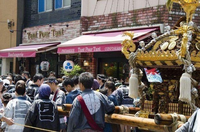 Festival Tsukishima Tokio