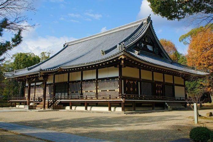 Templo budista Ninna-ji Kioto